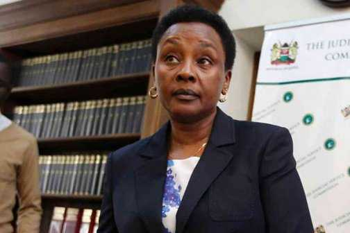 Justice Philomena Mwilu  Nominated For The Deputy Chief Justice Position