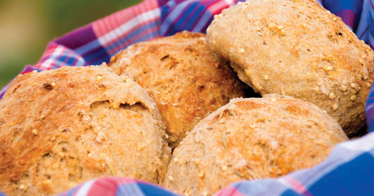 Delectable - Whole Grain Rolls